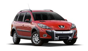 Foto do Peugeot 207 SW Escapade / Foto do Peugeot 206+ SW Escapade